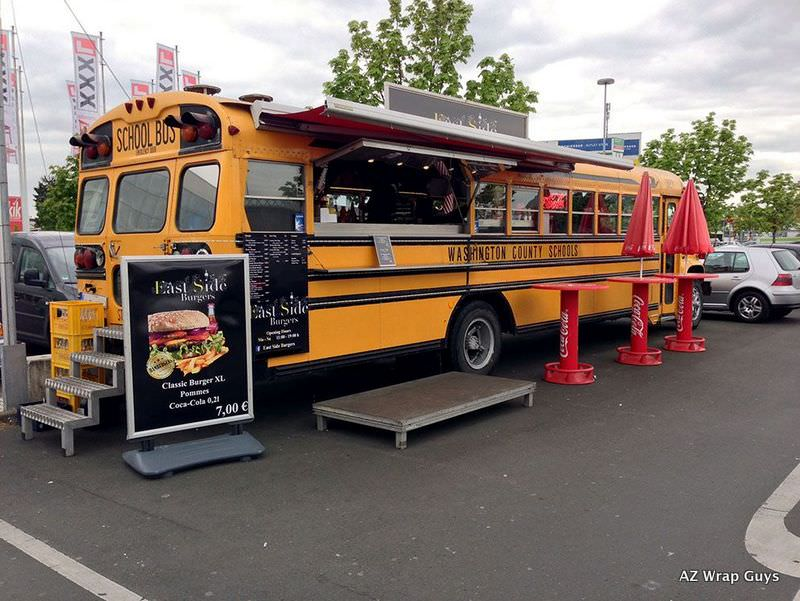 AZ Wrap Guys Food Truck Wraps Mesa Mobile Trailers