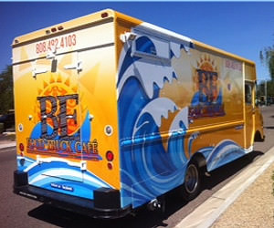 Semi truck wraps - vehicle wraps arizona